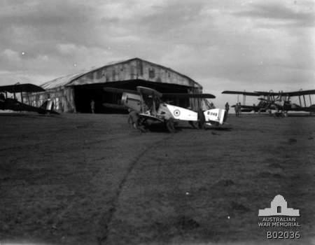 Bristol Fighter B1148   Sqn, AFC, Palestine.  AWM B02036