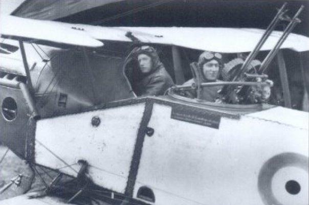 Capt W Sydney Addison and Lt Wilmot Hudson Fysh
